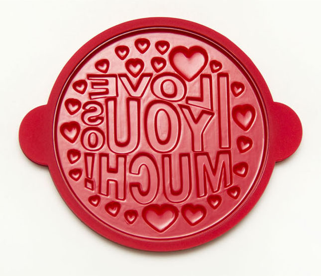 i love you so much silicone pro pancake mold pancake presents