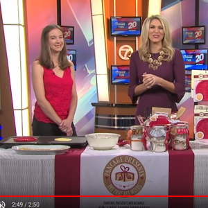 Pancake Presents, Ann Marie LaFlamme, TV 20, Channel 7 news, Mom
