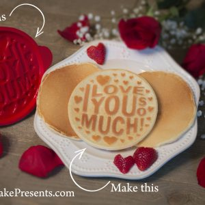 I Love You So Much Pancake Mold